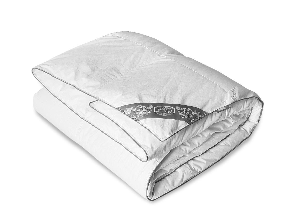 Пуховое одеяло Пух 001-DB, теплое Cleo