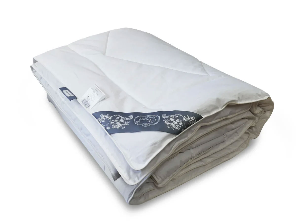 Одеяло всесезонное с мериносом Lana merino 001-LM Cleo