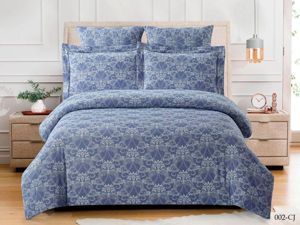 Жаккардовое постельное белье из сатина 002-CJ Cleo