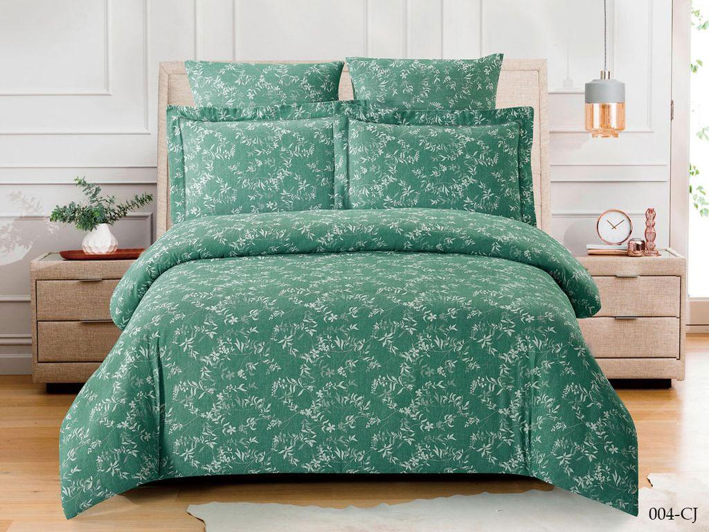 Жаккардовое постельное белье из сатина 004-CJ Cleo