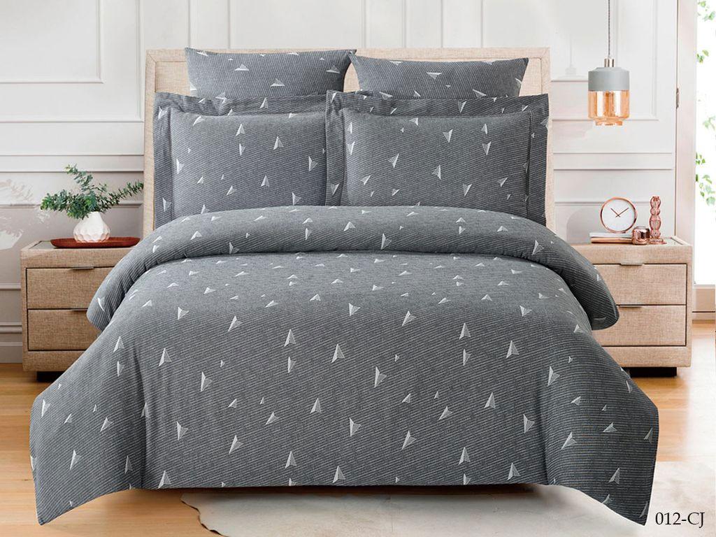 Жаккардовое постельное белье из сатина 012-CJ Cleo