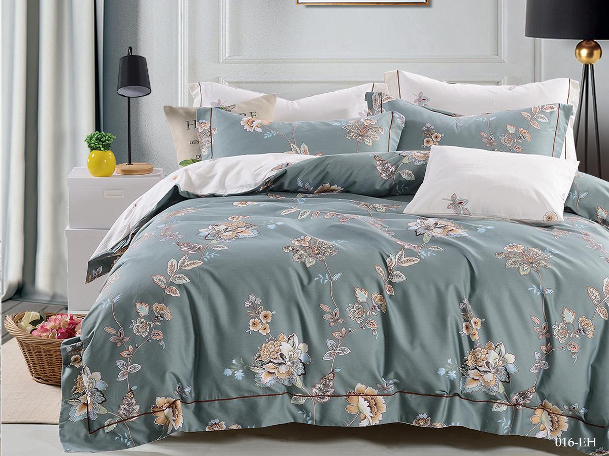 Сатиновый комплект постельного белья Perfecto 016-EH Cleo
