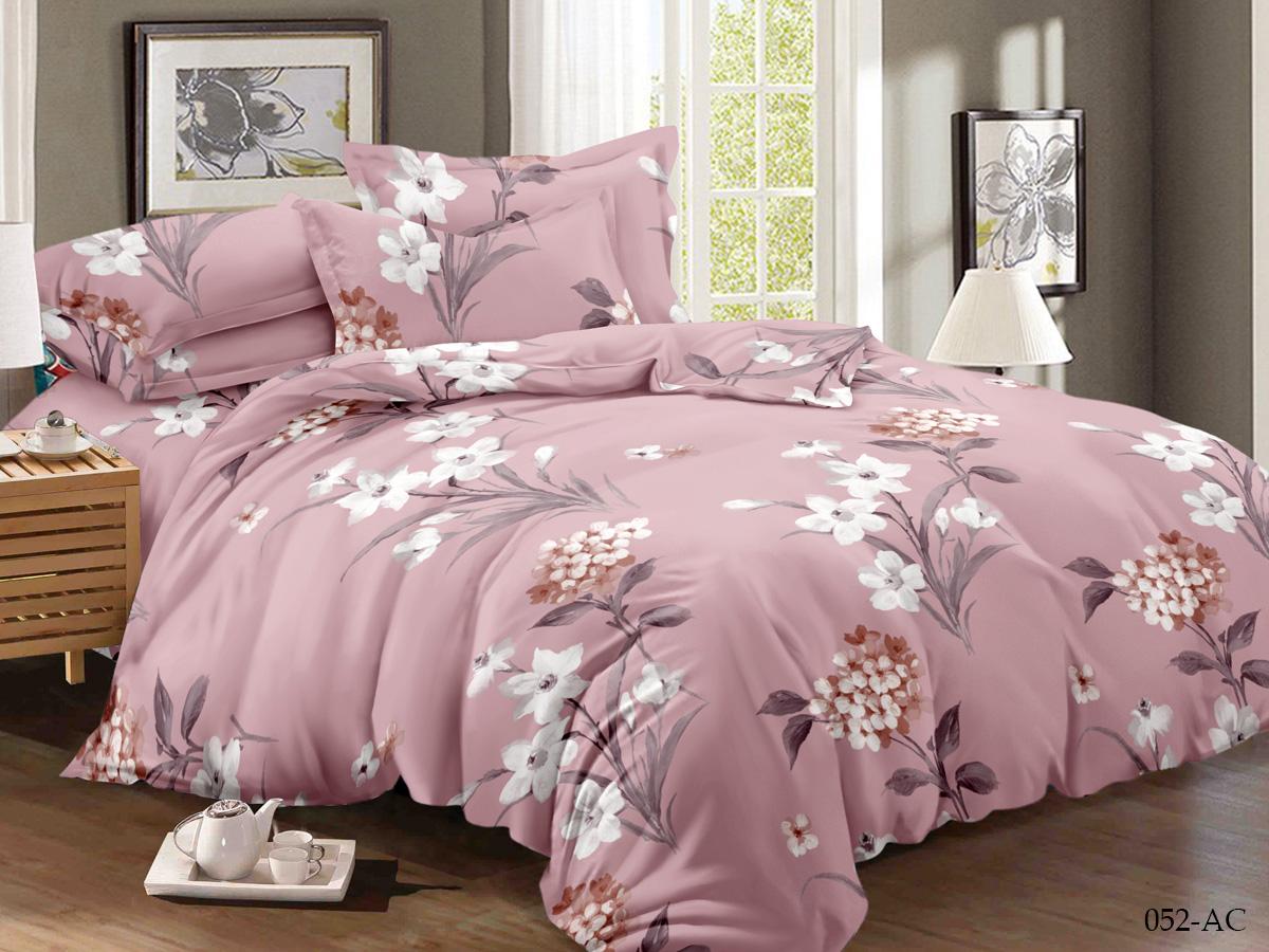 Комплект постельного белья из полисатина 052-AC Cleo