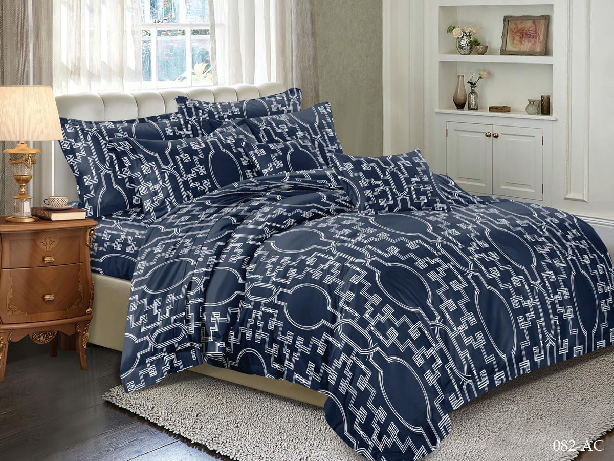 Комплект постельного белья из полисатина 082-AC Cleo