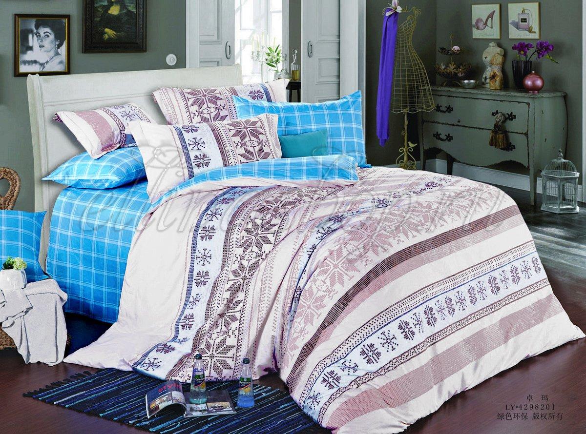 SP-106 комплект постельного белья из сатина Cleo