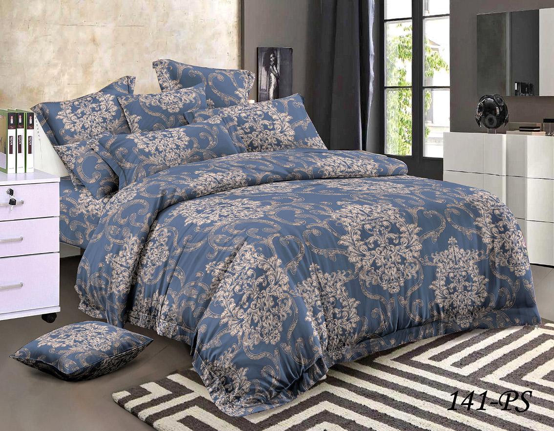 Комплект постельного белья из полисатина 141-PS Cleo