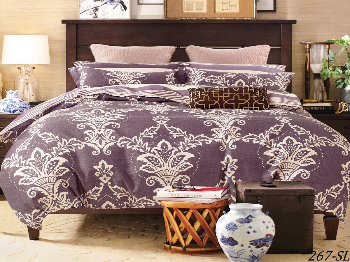Комплект постельного белья из сатина 267-SL Cleo