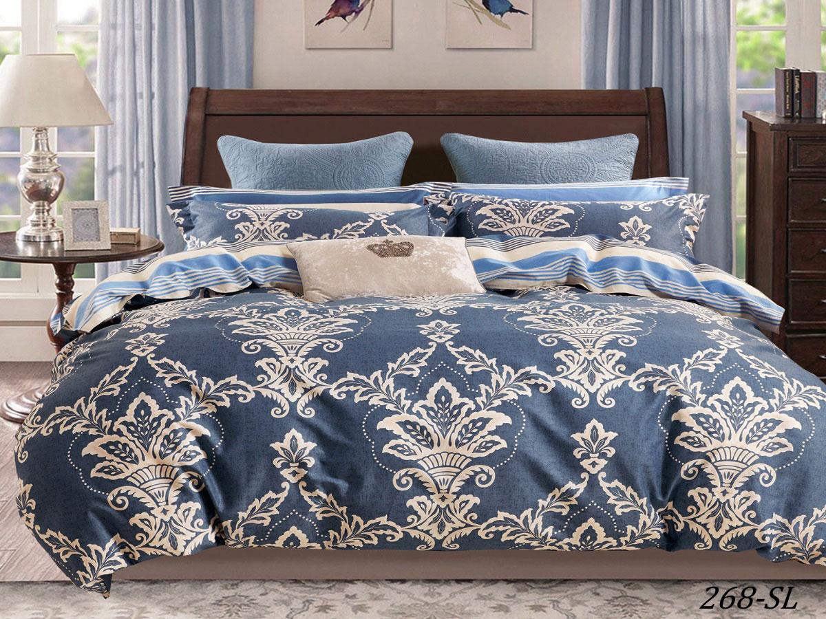 Комплект постельного белья из сатина 268-SL Cleo