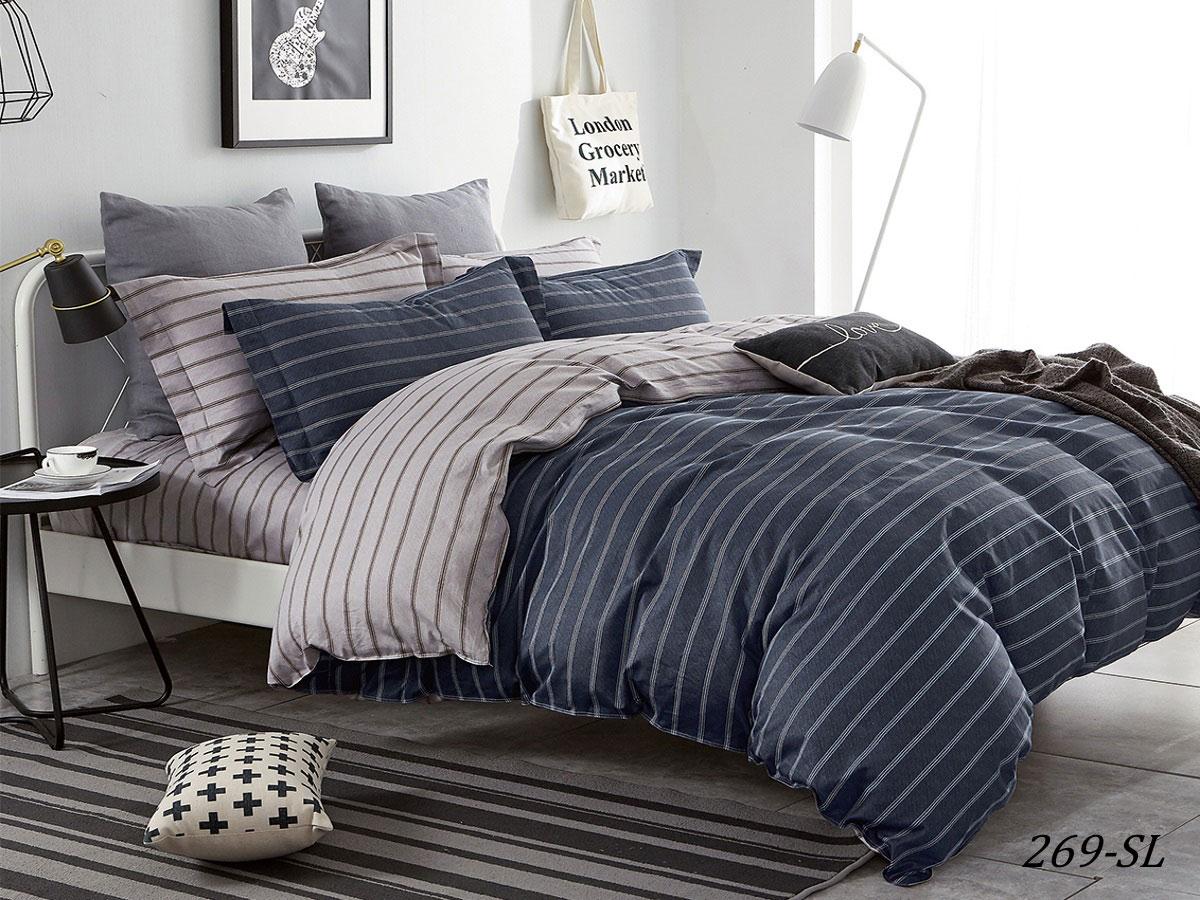 Комплект постельного белья из сатина 269-SL Cleo