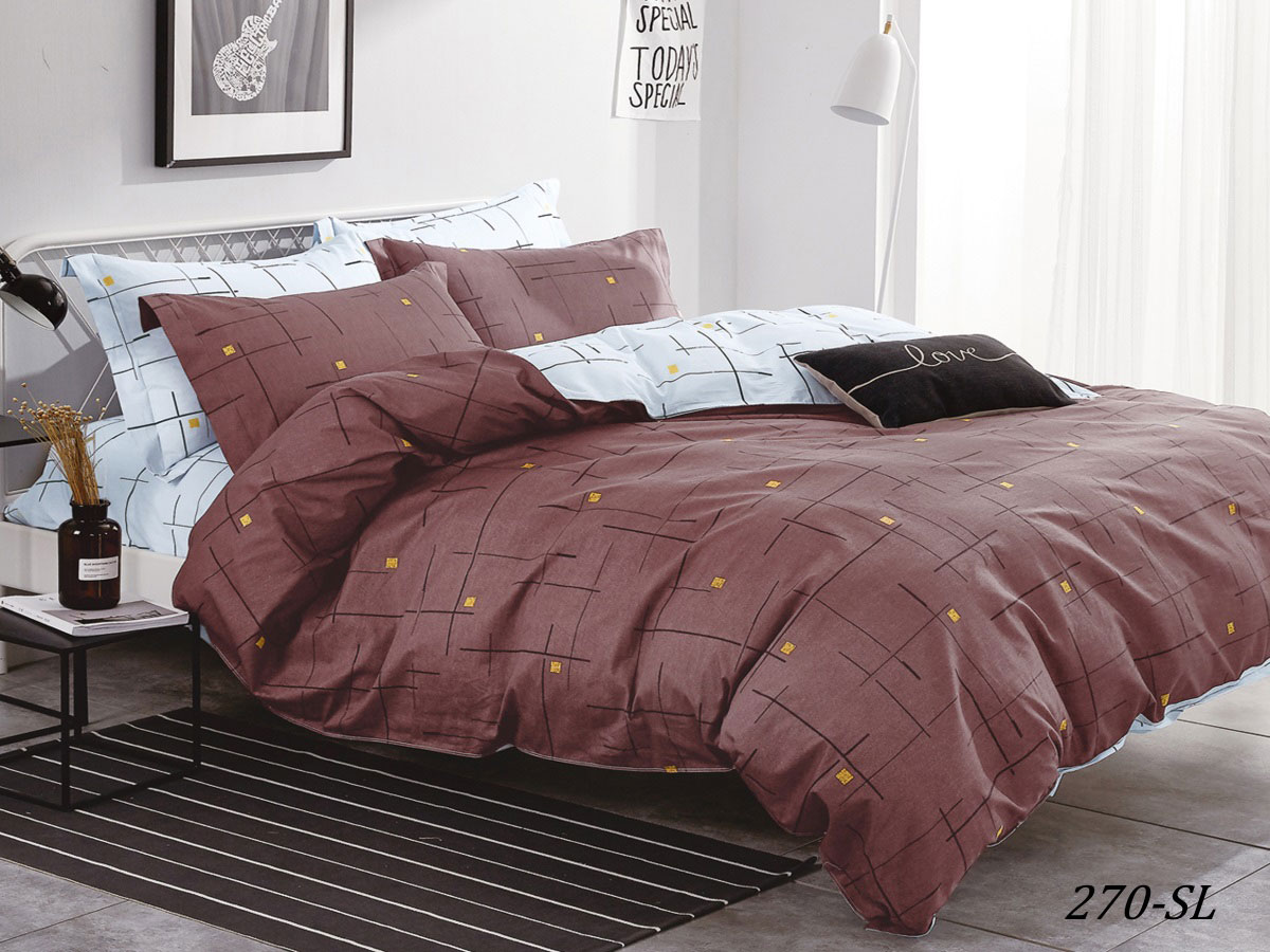 Комплект постельного белья из сатина 270-SL Cleo