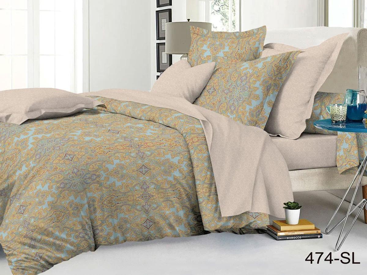 Комплект постельного белья из сатина 474-SL Cleo