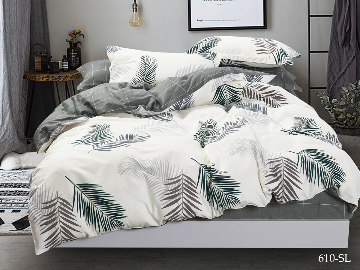 Комплект постельного белья из сатина 610-SL Cleo