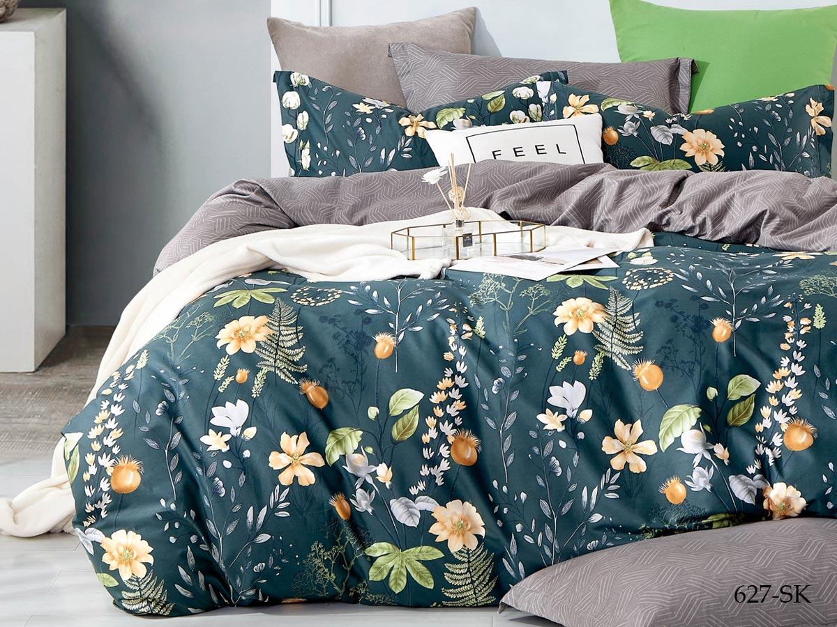 Комплект постельного белья из сатина 627-SK Cleo