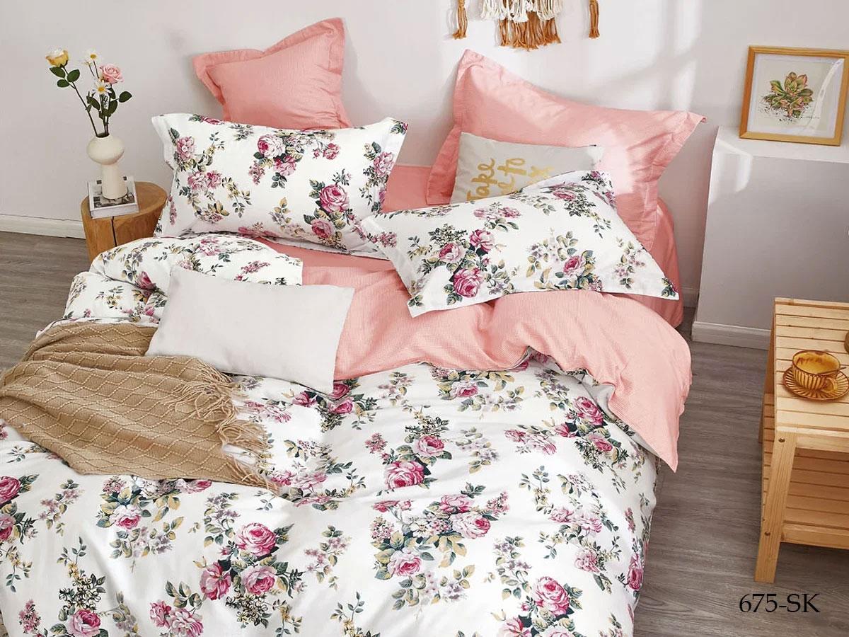 Комплект постельного белья из сатина 675-SK Cleo