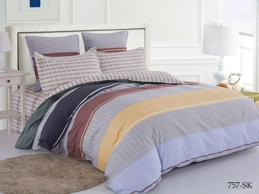 Комплект постельного белья из сатина 757-SK Cleo