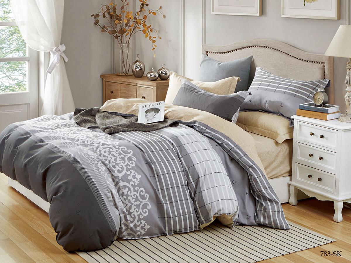 Комплект постельного белья из сатина 783-SK Cleo