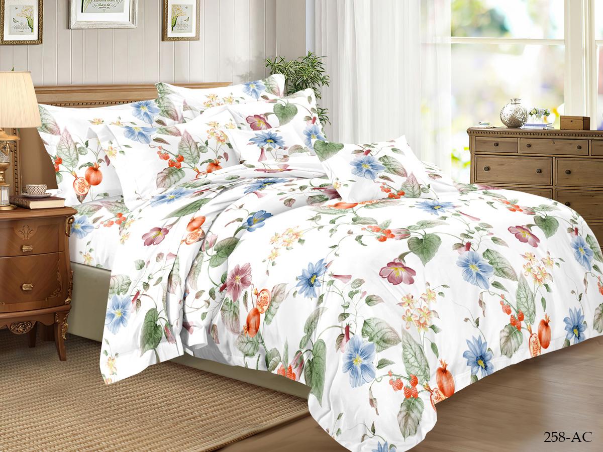 Комплект постельного белья из полисатина 258-AC Cleo