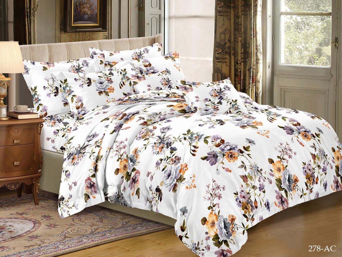 Комплект постельного белья из полисатина 278-AC Cleo