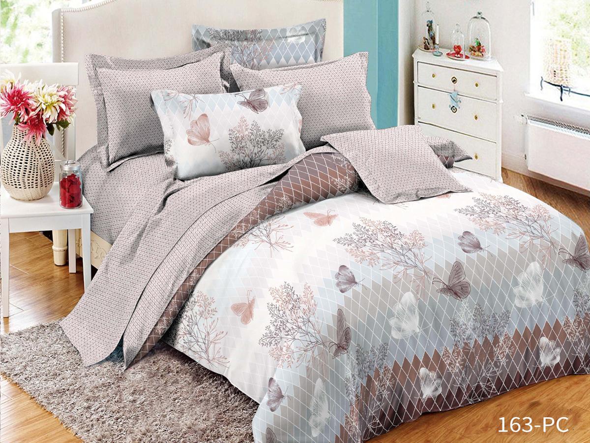 Комплект постельного белья из поплина 163-PC Cleo