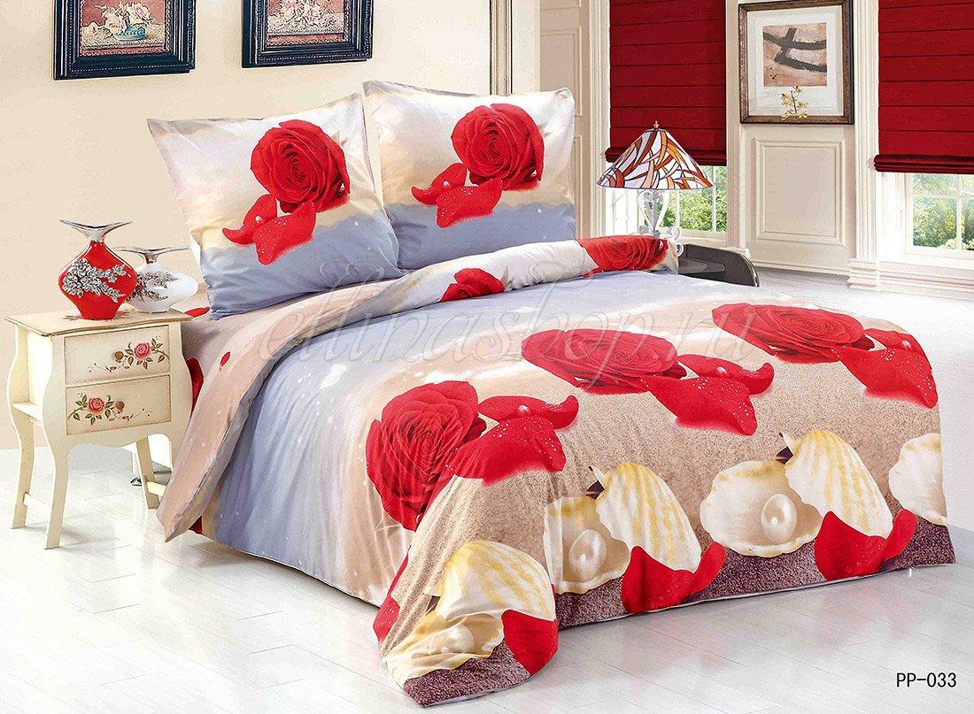 PP-033 постельное белье из поплина Cleo
