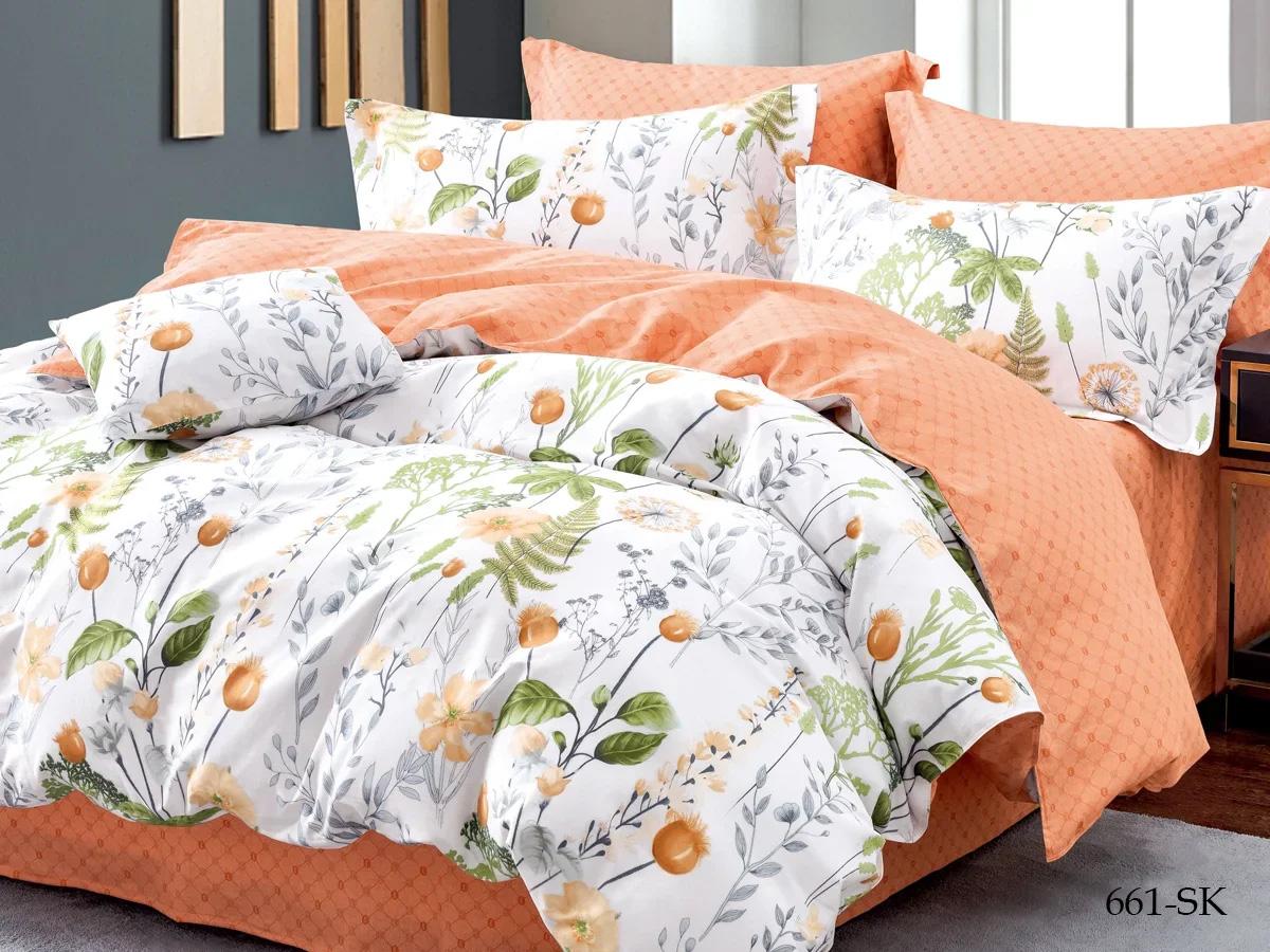 Комплект постельного белья из сатина 661-SK Cleo