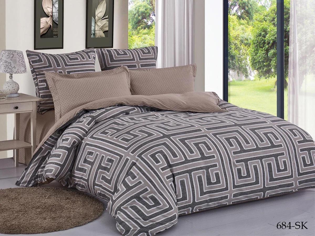 Комплект постельного белья из сатина 684-SK Cleo