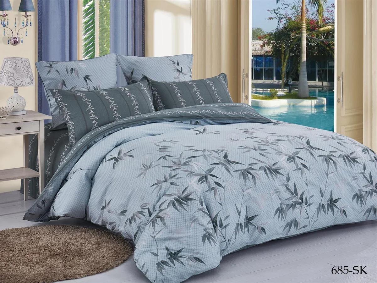 Комплект постельного белья из сатина 685-SK Cleo
