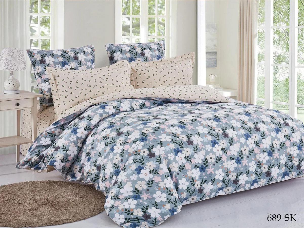 Комплект постельного белья из сатина 689-SK Cleo