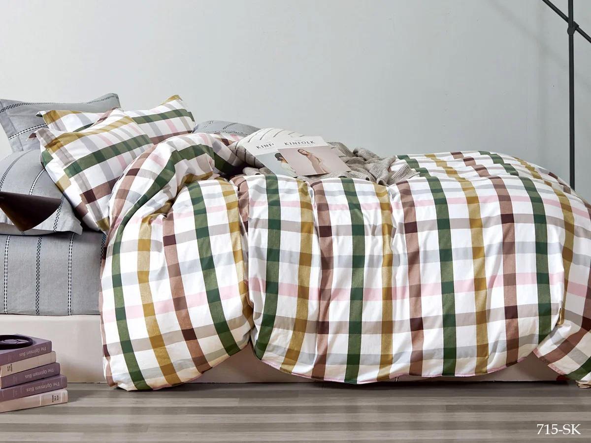 Комплект постельного белья из сатина 715-SK Cleo