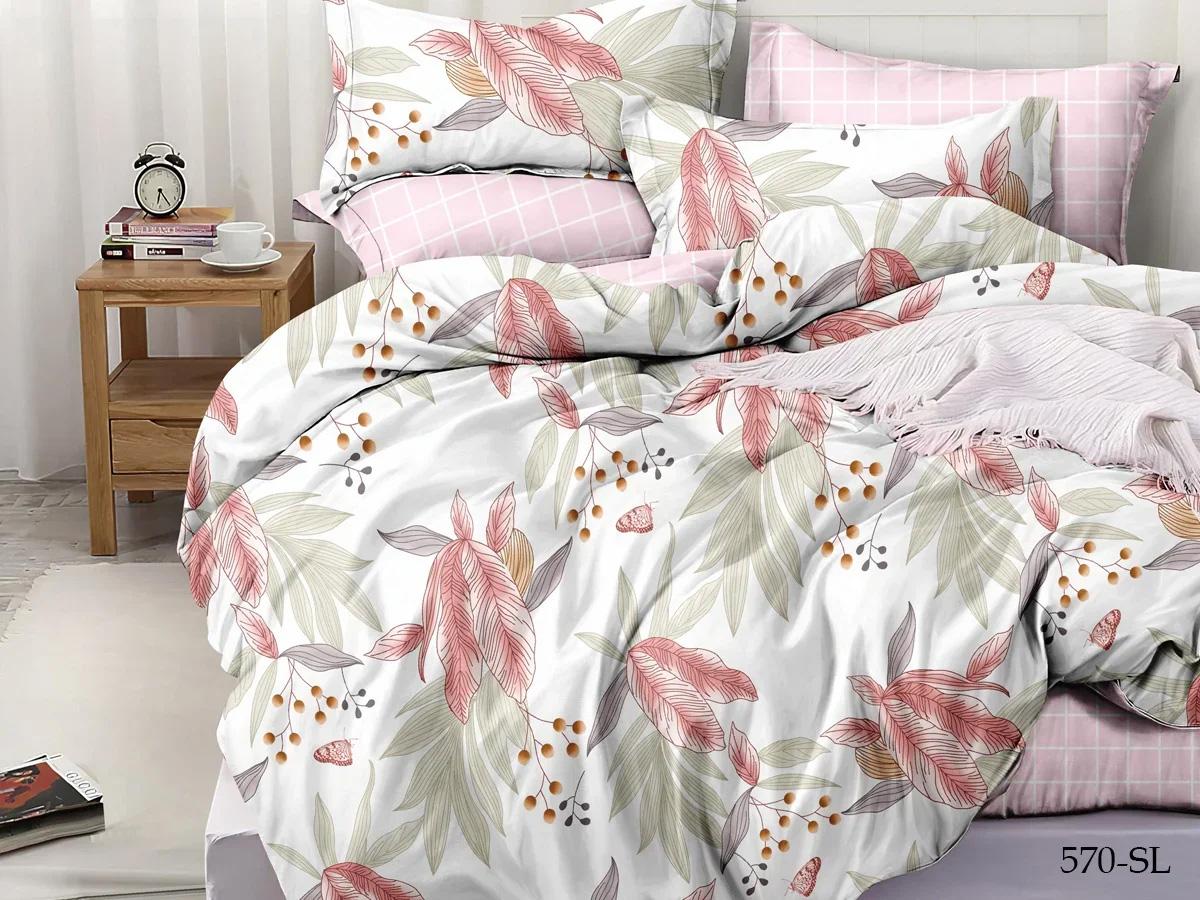 Комплект постельного белья из сатина 570-SL Cleo