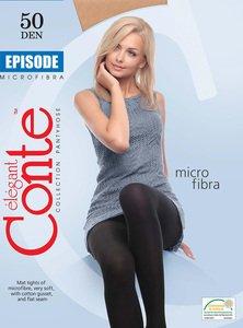 Новая коллекция женских эластичных колгот высокой плотности Conte