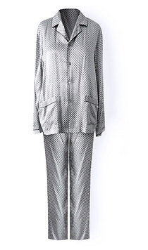 Мужская шелковая пижама 01A1803 Patrick Oryades