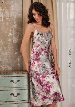 131510 Alice - сорочка длинная, на бретелях Oryades