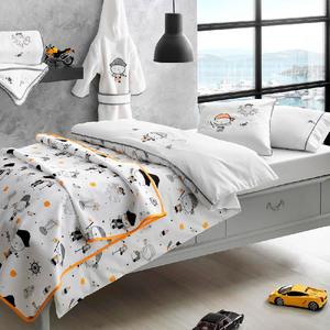 Детское постельное белье в кроватку + пике Pirates Tivolyo