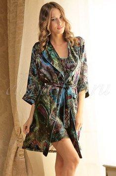 1491402 Magdalena Короткий халат на поясе Oryades
