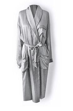 Мужской шелковый халат 151803 Patrick Oryades