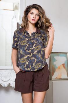 Комплект (блузка, шорты) 16422 Elania Mia-Mia