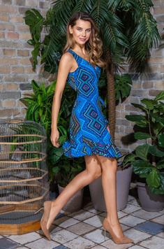 Платье 16430 Jana голубой Mia-Mia