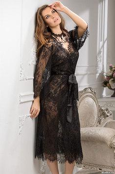 Женский кружевной халат 2033 Шанель Mia Amore