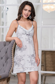 Ночная сорочка на бретелях 6550 Коллет Mia Amore