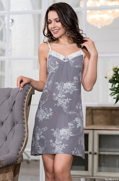 Сорочка на бретелях 6551 Коллет Mia Amore