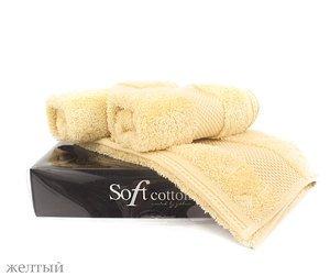 Комплект полотенец (30x50 3шт) Delux Soft cotton
