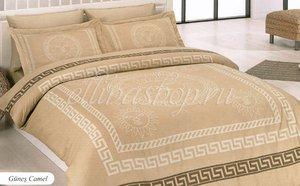 Gunes camel темно-бежевый постельное белье из бамбука Karven