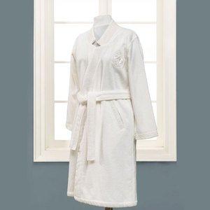 Халат махровый Eliza кремовый Soft cotton