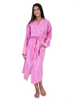 Вафельный халат розовый Elintale