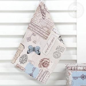 Полотенце из рогожки 50х70 (1 шт) Либретто Артпостель