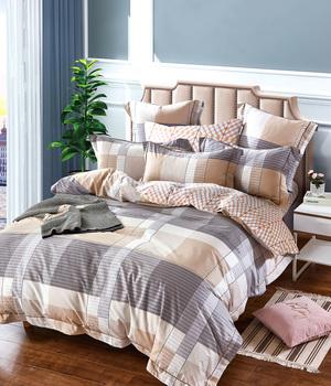 Комплект сатинового постельного белья LS-028 Elin