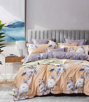 Комплект сатинового постельного белья LS-029 Elin