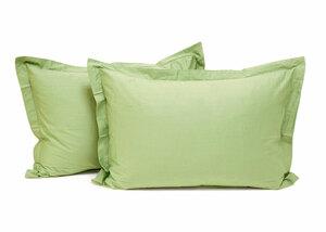 Комплект сатиновых наволочек LSO-016 ярко-зеленый Elin
