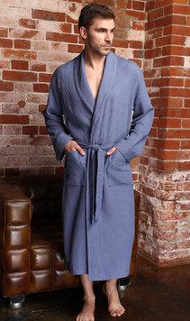 4afc6e8f736f Купить вафельный халат недорого в интернет магазине Эллина